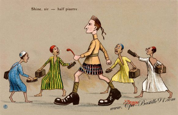 Cartes Postales de l'illustrateur Manavian en 1916 - Cliquez sur la carte pour l'agrandir et en voir tous les détails