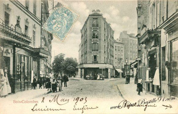 Carte Postale Ancienne de Bois-Colombes