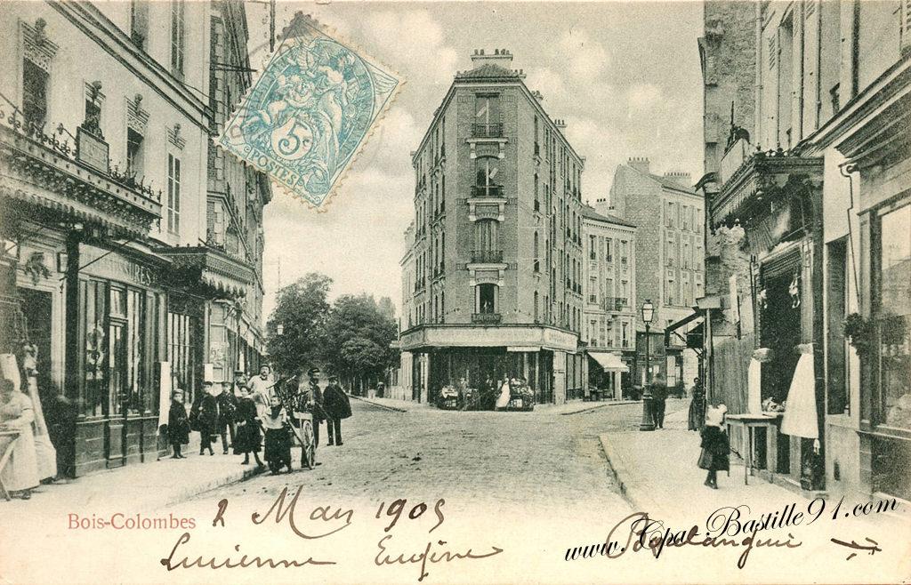 Carte Postale Ancienne de BoisColombes  Cartes Postales  ~ Auto Ecole Bois Colombes