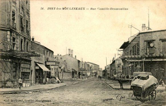 Cartes Postales Anciennes - Issy-les-Moulineaux - Rue Camille Desmoulins