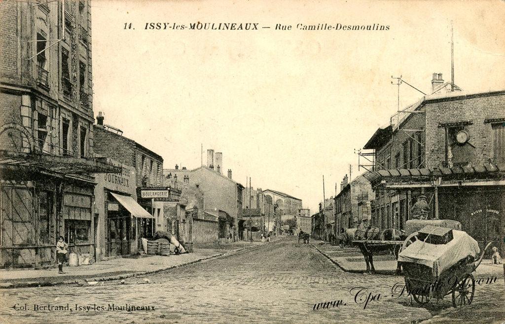 Hauts de seine cartes postales anciennes - Office du tourisme issy les moulineaux ...