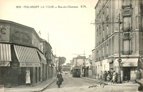 Malakoff - La Tour - Rue des Clozeaux