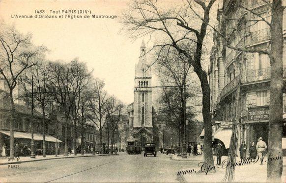 Carte Postale Ancienne - Tout Paris - Avenue d'Orléans