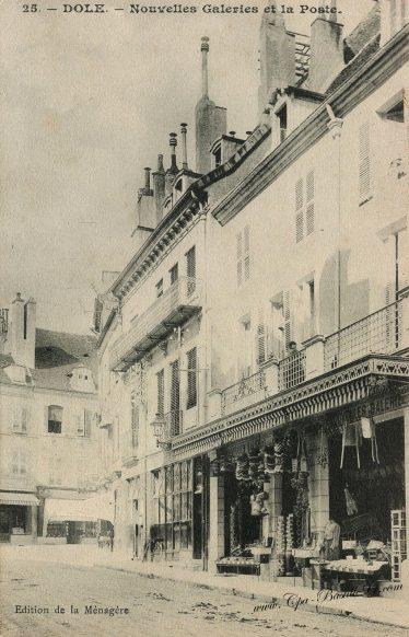 Cartes Postales Anciennes - Dole - les nouvelles Galeries de la poste