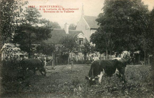 Carte Postale Ancienne de Montfermeil - A la laiterie du domaine de la Tuilerie