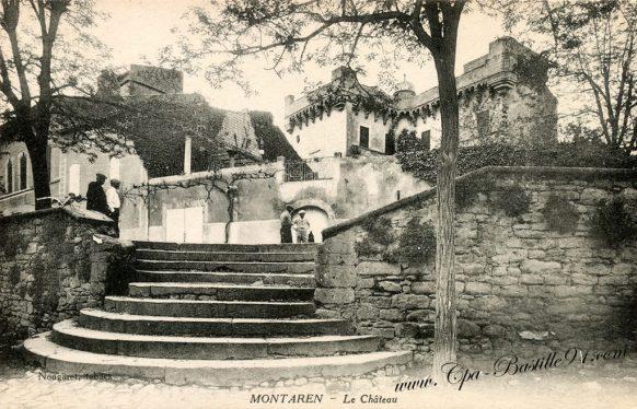 Carte Postale Ancienne - Montaren le Chateau
