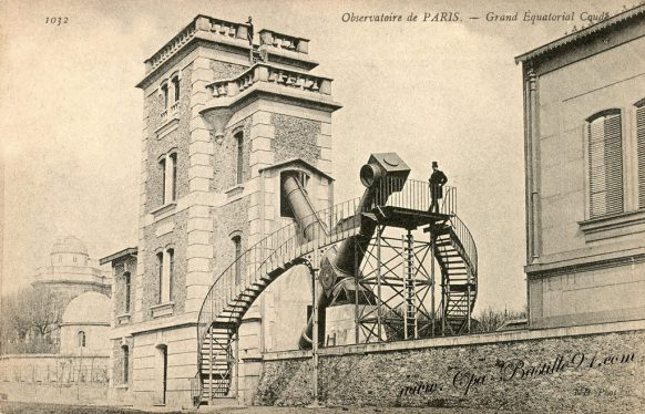 Carte Postale Ancienne - Observatoire de Paris - Grand Equatorial Coudé