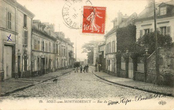 Carte Postale Ancienne - Soisy-sous-Montmorency - Rue du chemin Vert - Cliquez sur la carte pour l'agrandir et en voir tous les détails