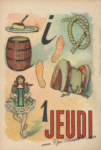 Cartes Postales Anciennes – Jeux de rébus des années 1900