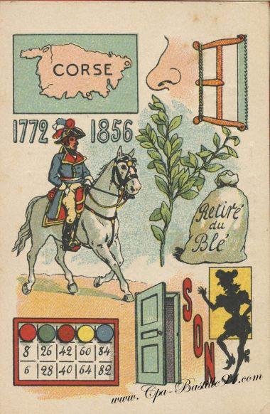 Carte Postale Ancienne – Jeux de rébus – Cliquez sur la carte pour l'agrandir et en voir tous les détails