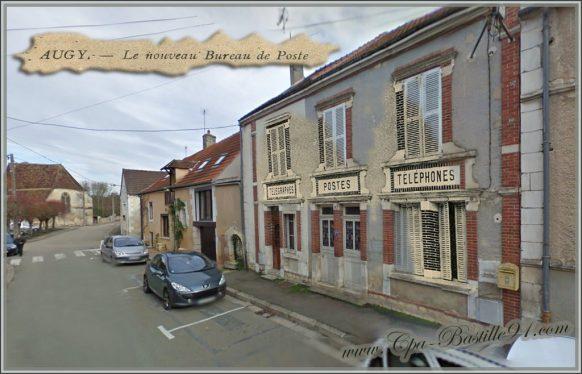 Augy-le-bureau-de-poste-dhier-à-Aujourdhui