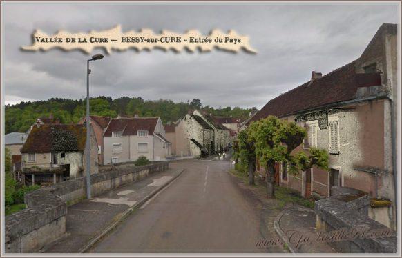 Vallee de la Cure - Bessy-sur-cure - d'hier à Aujourdhui