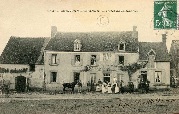 Montigny-sur-Canne - Hôtel de la Canne