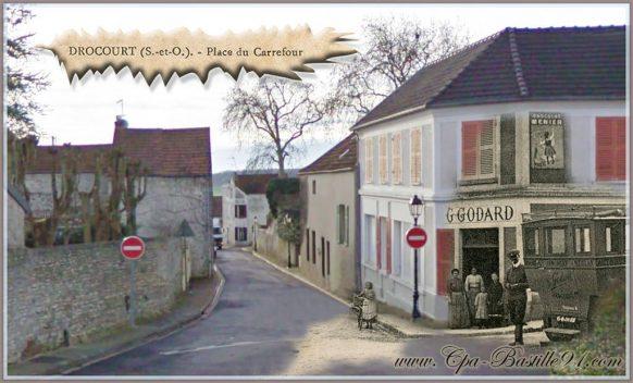 Drocourt Place du Carrefour - d'hier à Aujourd'Hui