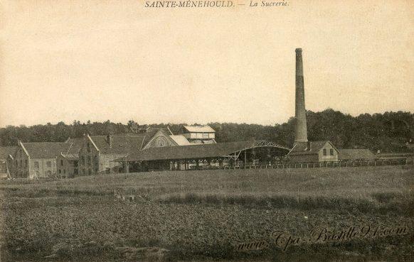 Carte Postale Ancienne - Sainte Menehould - La Sucrerie