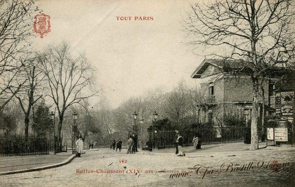 Carte Postale Ancienne - Tout Paris - Les Buttes Chaumont