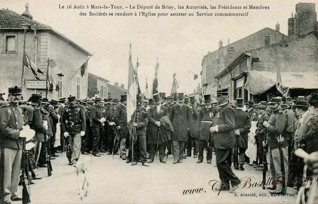Carte Postale Ancienne De Mars La Tour Le Dput Briey