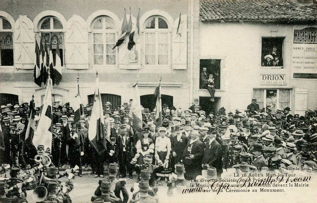 Carte Postale Ancienne De Mars La Tour Le 16 Aot 1910
