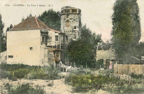 Carte postale Ancienne de Saint-OUEN - La tour à Mahu