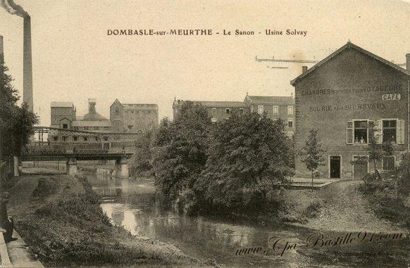 Dombasle sur Meurthe - Le Sanon - Usine Solvay