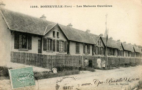 Cartes Postales Anciennes de Bonneville - Les maisons Ouvrières