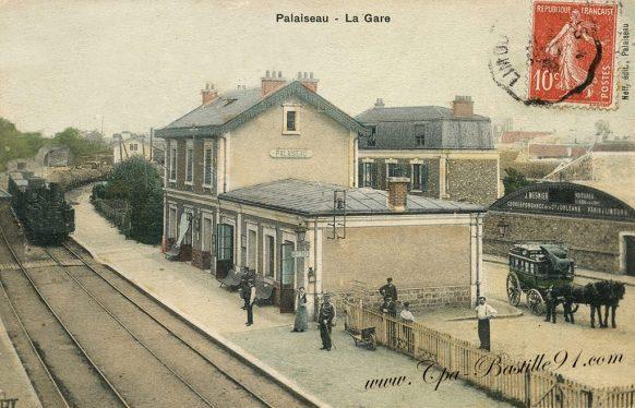 Cartes Postales Ancienne de la Gare de Palaiseau