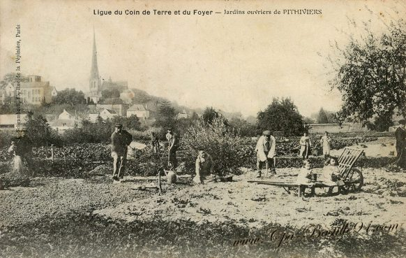 Cartes de Collections de la ligue du coin de terre et du Foyer de Pithiviers