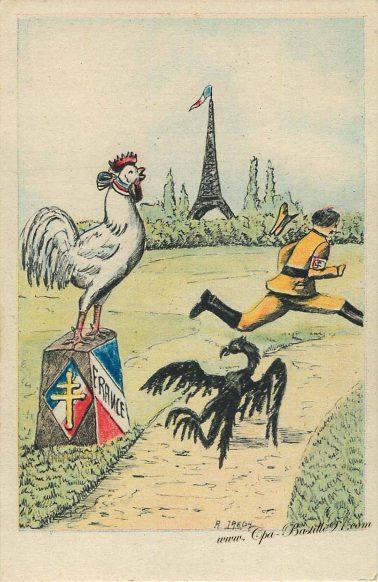 Stratégie Hitlérienne - Au secours un Coq - Help a cock