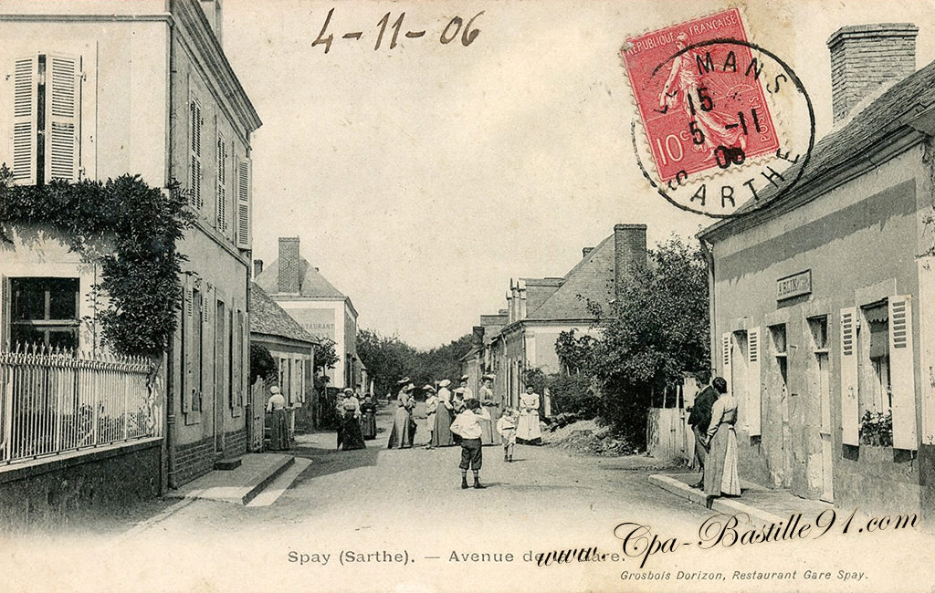 Spay - Avenue de la Gare