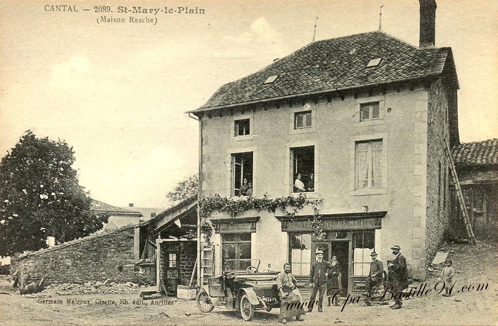 Cantal - Saint Mary-le-Plain - Maison Resche