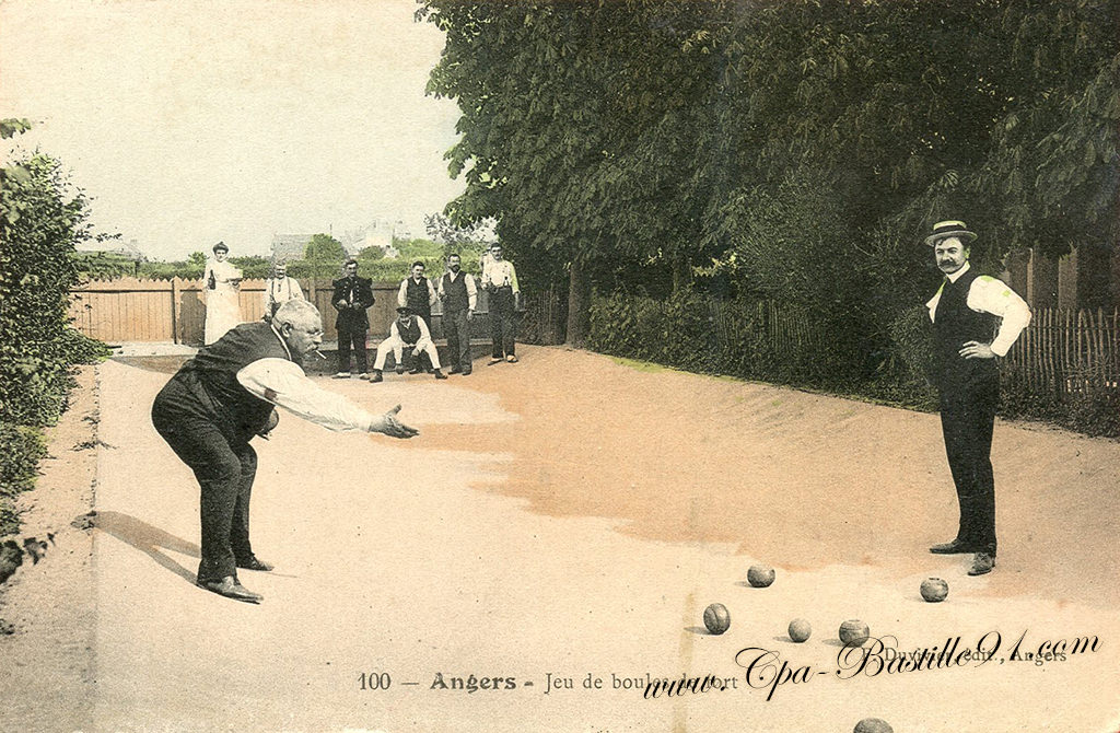 Angers - Le Jeu boules de Fort