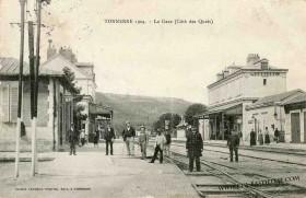 Tonnerre - La Gare - Côté des Quais | Cartes Postales Anciennes