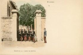 Carte Postale - Relevé de la 1er Garde de Dreyfus | Cartes Postales Anciennes
