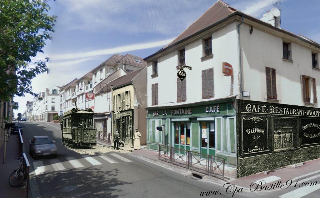 Maisons laffitte la descente de la rue de paris en 1900 cartes postales anciennes for Photos maisons anciennes